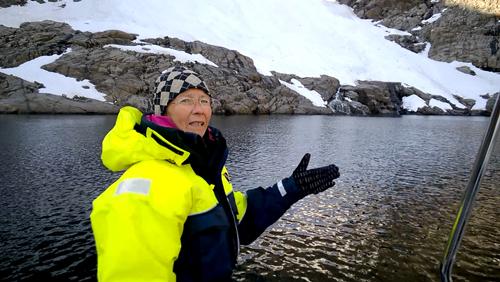 Jøkelfjord glacier