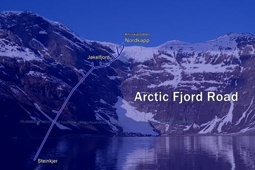Arctic Fjord Road