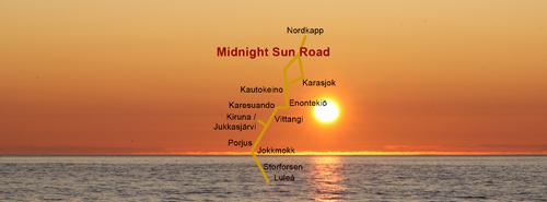 Karesuando Bensin - Midnight Sun Road
