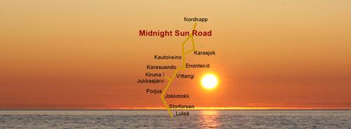 Midnight Sun Road - Kiruna
