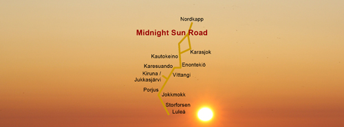 Midnight Sun Road - Piteå