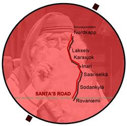 Santa's Road Rovaniemi - Nordkapp